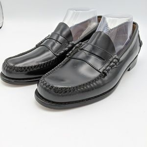 LL Bean Classic Penny Loafers Shoes Slip On Black